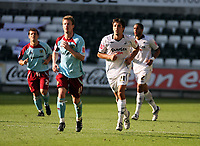 Pictured: Federico Bessone of Swansea City<br /> Coca Cola Championship, Swansea City FC v Burnley at the Liberty Stadium, Swansea. Saturday 20 September 2008.