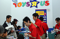 A Toys'r'us store Tokyo, Japan..