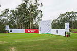 Set up of tee1 during the 9th Faldo Series Asia Grand Final 2014 golf tournament on March 18, 2015 at Mission Hills Golf Club in Shenzhen, China. Photo by Xaume Olleros / Power Sport Images