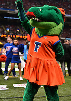 January 02, 2013..Florida Mascot Alberta Gator during Sugar Bowl game at Mercedes-Benz Superdome in New Orleans, LA. Louisville defeats Florida 33-23 to win the Sugar Bowl...(Credit Image: © Mo Khursheed/Cal Sport Media)