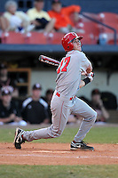 Illinois State Redbirds shortstop Bretty Kay #17 during a game vs. Bowling Green at Chain of Lakes Park in Winter Haven, Florida;  March 6, 2011.  Illinois State defeated Bowling Green 18-10.  Photo By Mike Janes/Four Seam Images