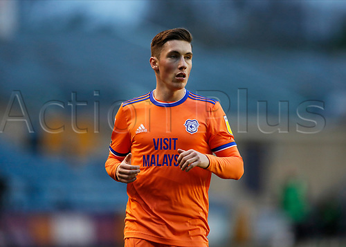 21st November 2020; The Den, Bermondsey, London, England; English Championship Football, Millwall Football Club versus Cardiff City; Harry Wilson of Cardiff City