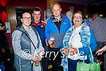 Enjoying the evening in Christy's Bar in Listowel on Thursday, l to r: Siobhan Byrnes, Joe Moloney, Darragh Byrnes and Geraldine Moloney all Listowel.