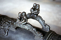 Visual Arts:  Arms--16th Century Couleuvrine, detail.  Photo '90.