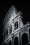 Colosseum at night in Rome, Italy
