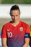 20200307  Lagos , Portugal : Norwegian midfielder Caroline Graham Hansen (10) pictured during the female football game between the national teams of Germany and Norway on the second matchday of the Algarve Cup 2020 , a prestigious friendly womensoccer tournament in Portugal , on saturday 7 th March 2020 in Lagos , Portugal . PHOTO SPORTPIX.BE | STIJN AUDOOREN