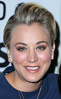 LOS ANGELES, CA, USA - NOVEMBER 02: Kaley Cuoco arrives at the 2014 Stand Up For Pits Event held at Improv on November 2, 2014 in Los Angeles, California, United States. (Photo by Xavier Collin/Celebrity Monitor)