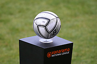 The National League ball during Dagenham & Redbridge vs Wealdstone, Vanarama National League Football at the Chigwell Construction Stadium on 10th October 2020