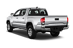 Car pictures of rear three quarter view of 2016 Toyota Tacoma SR5 4 Door Pickup Angular Rear