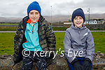 Enjoying a stroll in Blennerville on Sunday, l to r: Rory and James Daly