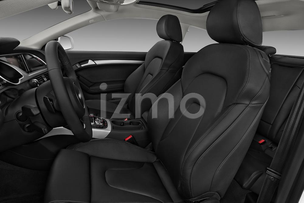 Front seat view of 2014 Audi A5 Premium Quattro 2 Door Coupe front seat car photos