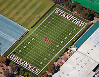 aerial photograph of the Stanford University football field, Palo Alto, Santa Clara, California