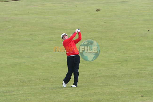 Des Smyth on the 2nd day of the 3 Irish Open in Baltray...Photo NEWSFILE/Jenny Matthews.(Photo credit should read Jenny Matthews/NEWSFILE)....This Picture has been sent you under the condtions enclosed by:.Newsfile Ltd..The Studio,.Millmount Abbey,.Drogheda,.Co Meath..Ireland..Tel: +353(0)41-9871240.Fax: +353(0)41-9871260.GSM: +353(0)86-2500958.email: pictures@newsfile.ie.www.newsfile.ie.FTP: 193.120.102.198.