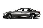 Car driver side profile view of a 2018 Lexus LS President 4wd 4 Door Sedan