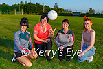 Aileen Moriarty, Ann Marie O'Leary, Claire O'Mahony and Mary Theresa Moriarty who have signed up for the new Gaelic 4 Mothers & Others team at Kilcummin GAA club