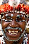 Dani tribesman, Papua, Indonesia