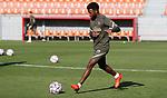 Atletico de Madrid's Thomas Lemar during training session. October 19,2020.(ALTERPHOTOS/Atletico de Madrid/Pool)