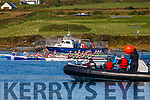 Action from the start of the Womens Open C2X final at the Irish Offshore Rowing Championships held in Portmagee on Saturday in ideal conditions.