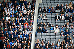 Some of the few empty seats at St James Park. Newcastle v West Ham, August 15th 2021. The first game of the season, and the first time fans were allowed into St James Park since the Coronavirus pandemic. 50,673 people watched West Ham come from behind twice to secure a 2-4 win.