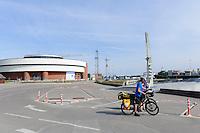 Meeresmuseum in Smiltyne auf der kurischen Nehrung, Litauen, Europa