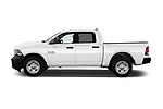 Car driver side profile view of a 2017 Ram Ram 1500 Tradesman Crew 4 Door Pick Up