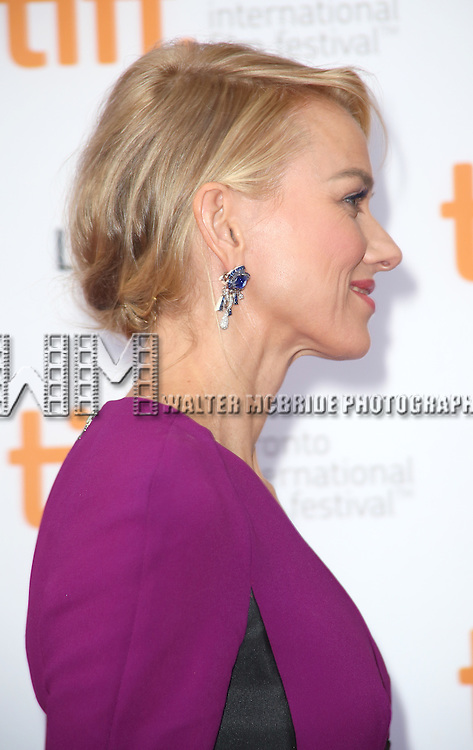 Naomi Watts attending the 'While We're Young' red carpet arrivals during the 2014 Toronto International Film Festival at the Princess of Wales Theatre on September 6, 2014 in Toronto, Canada.