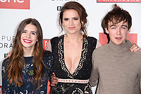 "Philippa Coulthard, Hayley Atwell and Alew Lawther<br /> at the ""Howard's End"" screening held at the BFI NFT South Bank, London<br /> <br /> <br /> ©Ash Knotek  D3343  01/11/2017"
