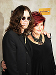 Ozzy Osbourne with Sharon Osbourne at 2010 Spike Guys Choice Awards.