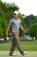 PGA Golfer Anthony Kim during the 2008 Wachovia Championships at Quail Hollow Country Club in Charlotte, NC.