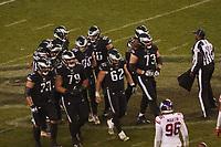 Huddle der Philadelphia Eagles - 09.12.2019: Philadelphia Eagles vs. New York Giants, Monday Night Football, Lincoln Financial Field