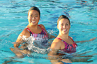 STANFORD, CA - OCTOBER 28:  Debbie Chen and Taylor Durand during picture day on October 28, 2009 in Stanford, California.
