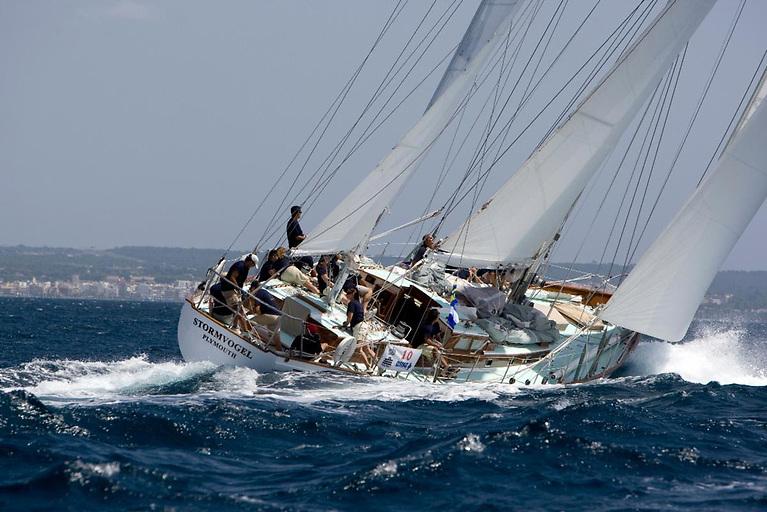 Several classic yachts will grace the Fastnet Race fleet, including the 73ft van de Stadt ketch Stormvogel, the 1961 Fastnet Race line honours winner © Stormvogel