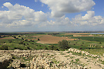 Israel, Shephelah, Archaeological excavations in Tel Zafit, identified as Biblical Philistine city Gath
