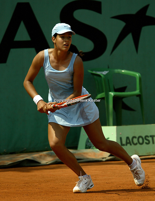 20030601, Paris, Tennis, Roland Garros, Ivanovic