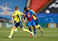 5th September 2020; Selhurst Park, London, England; Pre Season Friendly Football, Crystal Palace versus Brondby; Jeffrey Schlup of Crystal Palace in action