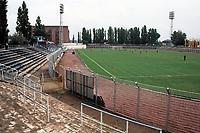 General view of Szonyi uti Stadion, Budapest, home of Budapesti Vasutas Sport Club