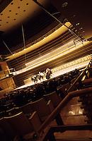 Amérique/Amérique du Nord/USA/Etats-Unis/Vallée du Delaware/Pennsylvanie/Philadelphie : Le Kimmel Center dessiné par l'architecte Rafael Vinoly - Philadelphia orchestra