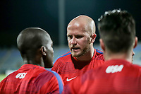 Couva, Trinidad & Tobago - Tuesday Oct. 10, 2017: Michael Bradley during a 2018 FIFA World Cup Qualifier between the men's national teams of the United States (USA) and Trinidad & Tobago (TRI) at Ato Boldon Stadium.