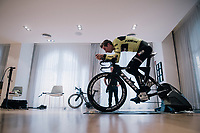 Bike-fit session for Bauke Mollema (NED/Trek-Segafredo) <br /> <br /> Team Trek-Segafredo men's team<br /> training camp<br /> Mallorca, january 2019<br /> <br /> ©kramon