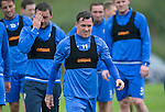 St Johnstone Training…22.07.16<br />Danny Swanson pictured during training this morning at McDiarmid Park ahead of tomorrows Betfred Cup game against Falkirk.<br />Picture by Graeme Hart.<br />Copyright Perthshire Picture Agency<br />Tel: 01738 623350  Mobile: 07990 594431