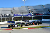 #18: Riley Herbst, Joe Gibbs Racing, Toyota Supra Monster Energy, #47: Kyle Weatherman, Mike Harmon Racing, Chevrolet Camaro