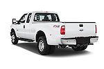 Car pictures of rear three quarter view of a 2015 Ford F-350 Super Duty XL 4x4 SuperCab 158-In DRW 2 Door pickup Angular Rear