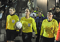 Belgium - Austria : Stephanie Forde , Sharon Sluyts en Fania Lammens.foto DAVID CATRY / Vrouwenteam.be