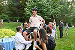 Dylan's Zoom Bar Mitzvah Picnic <br /> Westchester, New York<br /> <br /> <br /> Zoom ceremony at Temple Shaaray Tefila