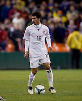 Benny Feilhaber. The USMNT tied Costa Rica, 2-2, during the FIFA World Cup Qualifier at  RFK Stadium, in Washington, DC.   With the result, the USMNT qualified for the 2010 FIFA World Cup Finals in South Africa.
