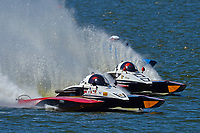 """Tom Thompson, A-52 """"Fat Chance Too"""", Andrew Tate, A-25 """"Fat Chance"""", Kevin Kreitzer, A-1 """"Blue Devil"""" (2.5 MOD class hydroplane(s)"""