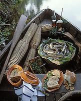 Europe/France/Poitou-Charentes/16/Charente: Terrine d'anguilles au cognac par P. Moreau du 'Chateau Courvoisier'