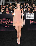 Kendall Jenner  attends The Los Angeles premiere of Summit Entertainment's THE TWILIGHT SAGA: BREAKING DAWN PART 1 HELD AT Nokia Theatre at L.A. Live in Los Angeles, California on November 14,2011                                                                               © 2011 DVS / Hollywood Press Agency
