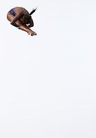 BARRANQUILLA - COLOMBIA, 22-07-2018: Competidora Anisley García de Cuba , modalidad 10m plataforma.Juegos Centroamericanos y del Caribe Barranquilla 2018. /Competitor Anisley García de Cuba, 10m platform platform of the Central American and Caribbean Sports Games Barranquilla 2018. Photo: VizzorImage /  Contribuidor