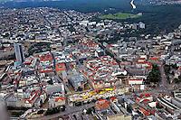 Baustelle der Höfe am Brühl (26.06.2011)  !!! Luftbild 100% Honoraraufschlag !!! Foto: aif / Stefan Nöbel-Heise